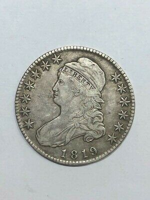 1819 Bust Half Dollar    Nice Origanel  Coin    See The Pics   No Reserve