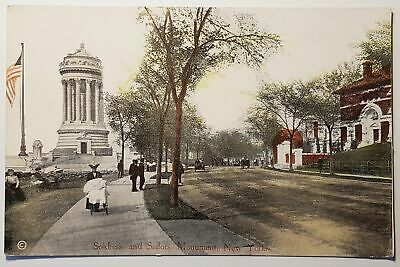 US  New York Solders and Sailors Monument Riverside dr and 89th UNPOSTED