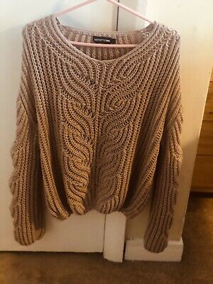 Light Pink Pretty Little Thing Jumper Size L BNWOT