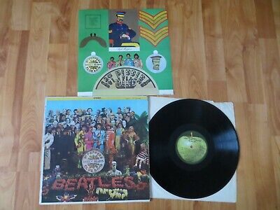 The Beatles Lp Sgt Pepper's Lonely Hearts Club Band Smas 2653 / 1971 W/ Insert