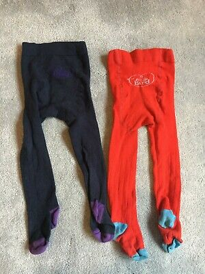 Little Bird by Jools Two Pairs of Tights Age 12-18 Months