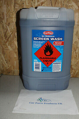 CarPlan 25L All Seasons Screen Wash High Power Concentrate 25 Litre free tap