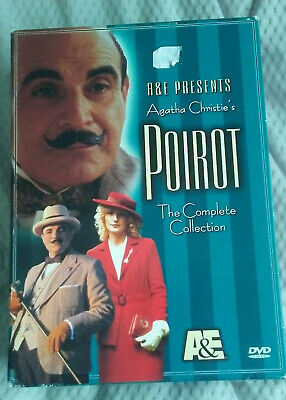 Poirot - The Complete Collection (DVD, 2002, 4-Disc Set) Agatha Christie's A&E