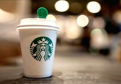 10 X Starbucks Coffee Cards Vouchers Valid For Any Drink Any Size No Expiry