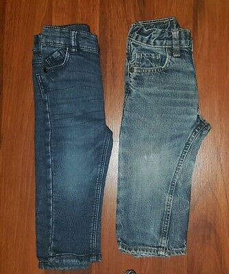 Baby Boys Jeans Bundle X 2 Pairs Including M&S Size 12-18 Months