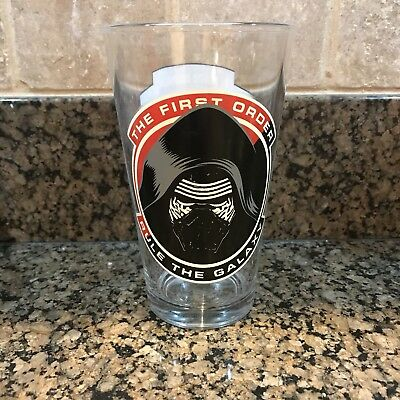 Star Wars Pint Glass The First Order Kylo Ren Large 16 oz