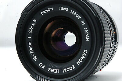Canon ZOOM Lens NEW-FD 35-70mm F3.5-4.5  SN1594172 **Excellent++**