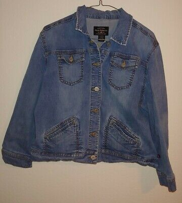 Kids Girls Ralph Lauren Polo Jean Jacket Denim XL