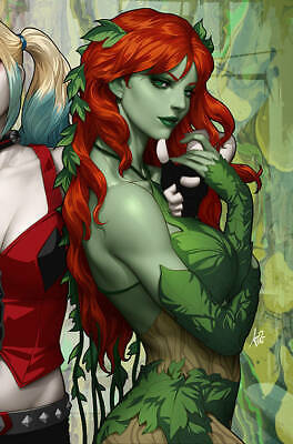 Harley Quinn & Poison Ivy #1 (Of 6) Poison Ivy Card Stock Va