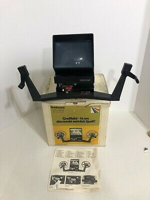 Vintage Hahnel VD-214 Editor-Viewer Super 8