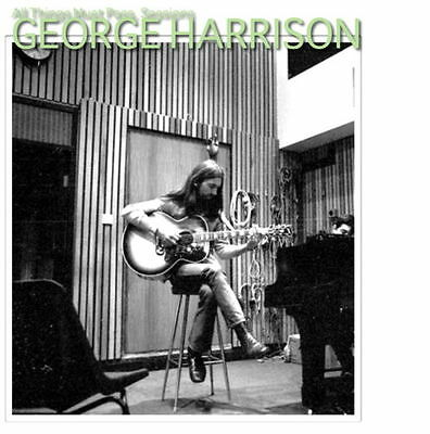 George Harrison The All Things Must Pass Recording and Demo Sessions CD