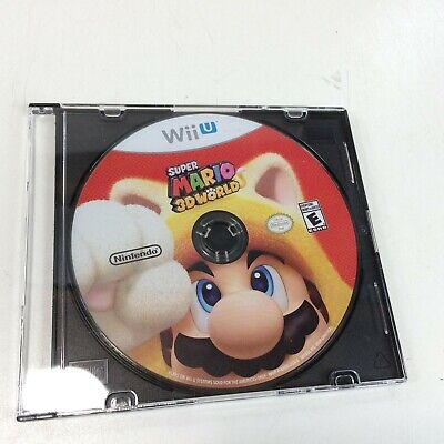 Super Mario 3D World (Wii U, 2013) Game Disc Only