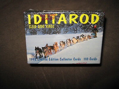 Alaska Iditarod Sled Dog Race Collector Cards-1992 Vintage-110 Cards-New-Mushing