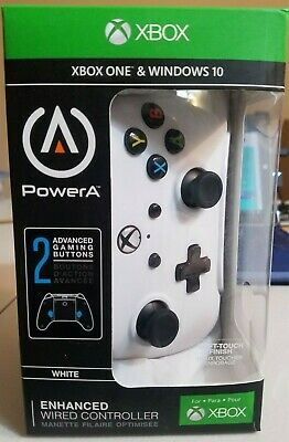 PowerA Enhanced Wired Controller for Xbox One - White FREE SHIPPING