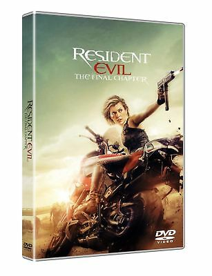 Resident Evil: The Final Chapter  Dvd Nuovo