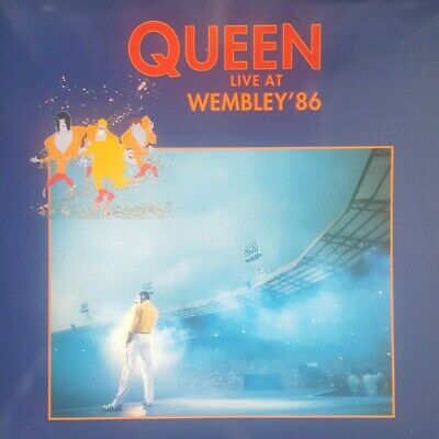 Queen Live At Wembley '86 Double Vinyl LP. Brand New. Rare record.