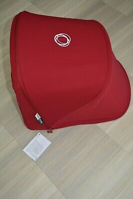 Bugaboo DONKEY 2 Extendable Sun Canopy Hood Fabric - RUBY RED