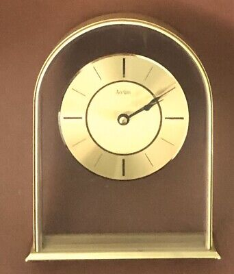 Vintage Acctim Quartz Domed Mantle Clock - Made in West Germany TESTED + WORKING