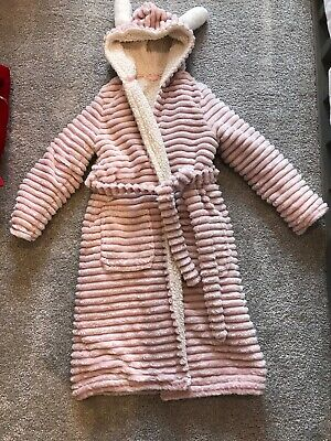 Girls Dressing Gown Age 7-8 Years Marks And Spencer