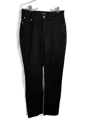 Lee Riders Women's Pants Heavenly Touch Slimming Stretch Skinny Black Sz 10 Med