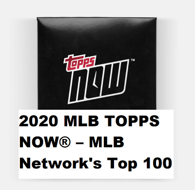 2020 MLB TOPPS NOW MLB Network's Top 100 ~ #11 Juan Soto Washington Nationals