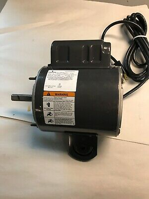 Emerson K55HXBEF-8607 Electric Motor 1937 1/2HP 115V 1075RPM/ 2 speed
