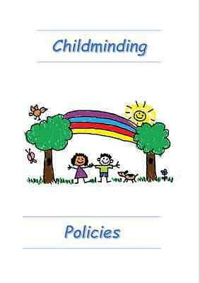 Eyfs Childminding 31 Policies Pack Including Gdpr Printed, Posted And Emailed.
