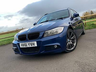 2011 61 BMW 3 SERIES 318d M SPORT PLUS 5DR TOURING *LEATHER, BLUETOOTH, PRIVACY*