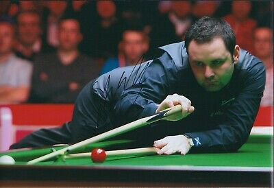 Stephen MAGUIRE SIGNED 12x8 Photo AFTAL COA Snooker UK Champion Authentic