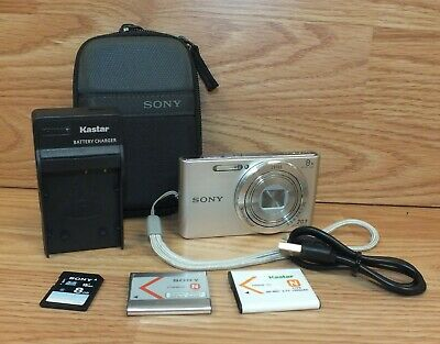 Genuine Sony (DSC-W830) Optical Steady Shot Digital Camera Bundle **READ**