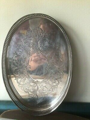 Vintage Lawrence.B.Smith Co Superfine  Oval TRAY