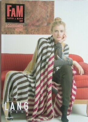 LANG YARNS / FAM-Fatto a Mano / Strickmode: Heft-Nr.: 239 / ACCESSOIRES HOME
