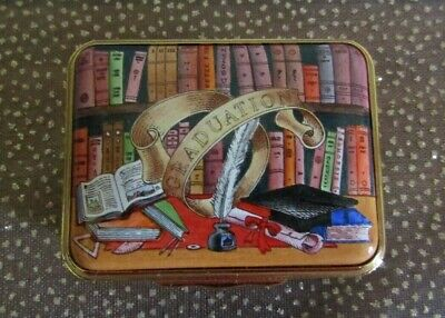 Halcyon Days - Enamel Box - Modern - Graduation Box