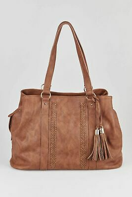 New Marikai 3 Compartment Soft Tote Bag Womens Tote Bags & Shoppers