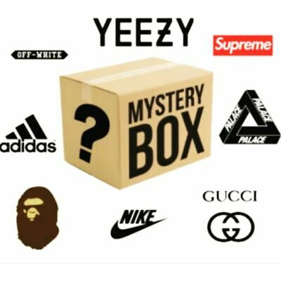 Mystery Box,  Yeezy, Supreme,Gucci Bags, Pokemon Cards. NO RESERVE!!!