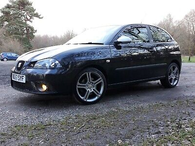Seat Ibiza Fr 1.8T 20V Black Magic Pearl, 57 Reg, Fsh Rare Car, 1 Previous Owner