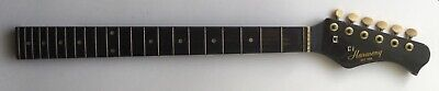 Vintage Harmony 6-String 22-Fret Guitar Neck with Tuners