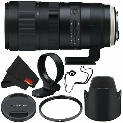 6Ave Tamron SP 70-200mm f/2.8 Di VC USD G2 Lens for Canon EF (Intl Model) + 77mm