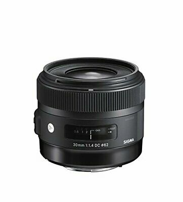 Sigma 30mm f/1.4 DC HSM Fixed Lens for Sony A-Mount Cameras (Intl Model) Version