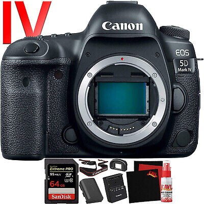 Canon EOS 5D Mark IV DSLR Camera (Body Only) (Intl Model) Version) 30.4 Megapixe