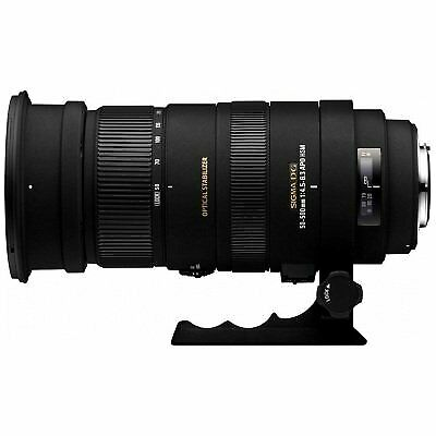 Sigma 50-500mm f/4.5-6.3 APO DG OS HSM SLD Ultra Telephoto Zoom Lens for Canon D
