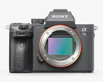 Sony a7 III Full-Frame Mirrorless Interchangeable-Lens Camera Optical +3-Inch LC