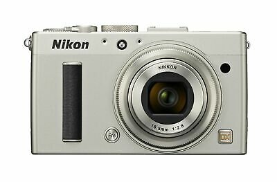 Nikon COOLPIX A 16.2 MP Digital Camera +28mm f/2.8 Lens (Silver) (Discontinued b