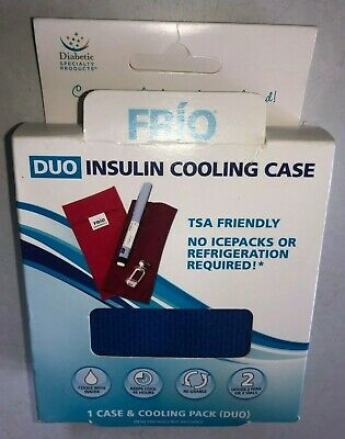 FRiO DUO INSULIN COOLING CASE 1 CASE & COOLING PACK 66999 MADE IN THE UK Blue