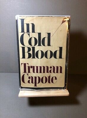 IN COLD BLOOD - Truman Capote - TRUE 1st Printing 1965 - NOT BOOK CLUB EDITION