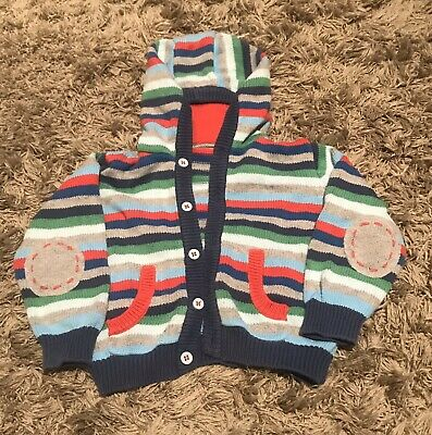 Boys M&S Knitted Cardigan Size 9-12 Months