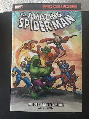 Amazing Spider-Man Epic Collection: Spider-Man No More TPB