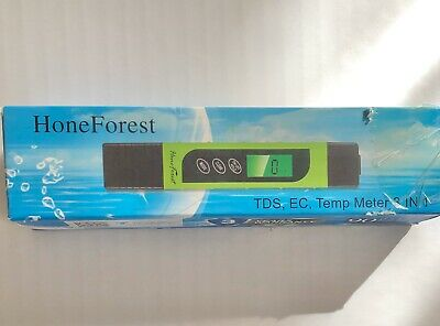 Water Quality Tester Forest EC Meter /& Temperature Meter Accurate and Reliable
