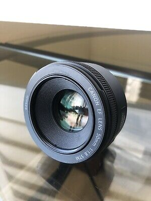 Canon EF Lens 50mm 1:1.8 STM Camera Lens - MINT Condition ++