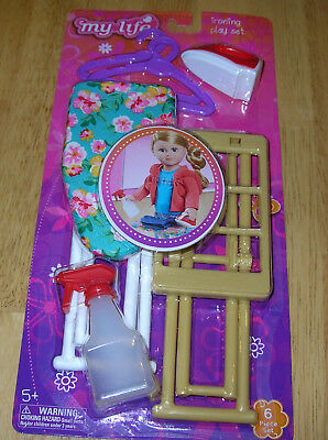 My Life Doll Ironing Play Set Accessories Toys Girl Hangers Iron Gift Play BX39